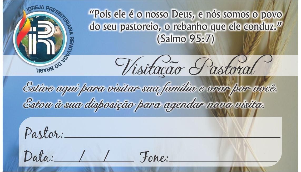 CARTÃO DE VISITA PASTORAL