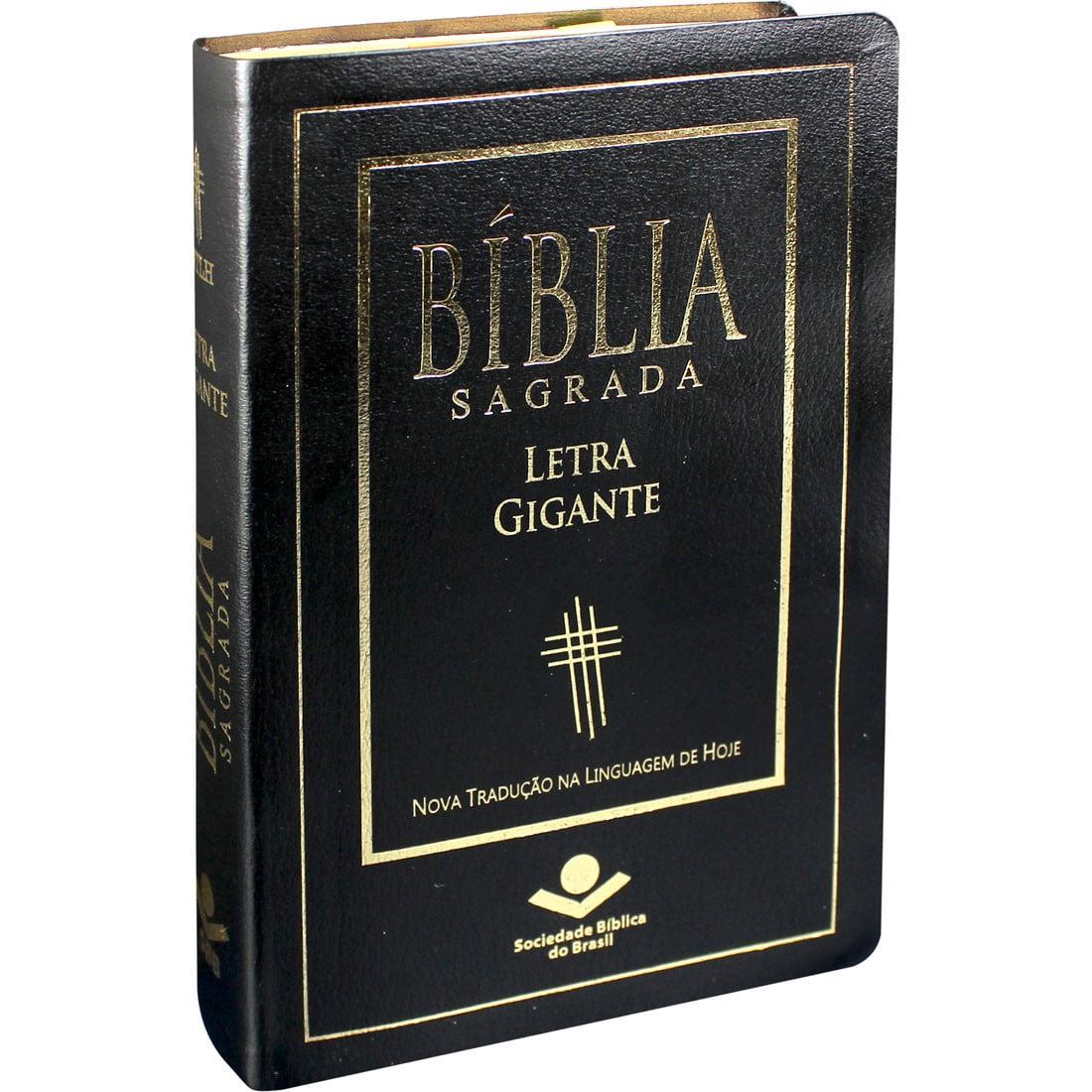 BIB.LETRA GIGANTE PRETA NTLH