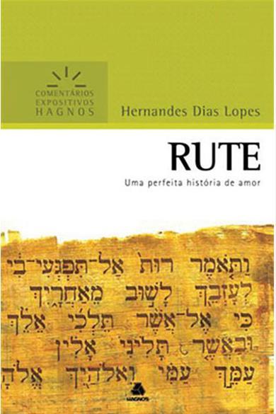 COMENTÁRIOS EXPOSITIVOS HAGNOS - RUTE - COD 1504