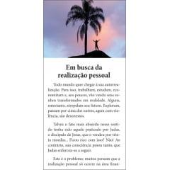 Folhetos para evangelismo - Em Busca da Realização Pessoal - 6002