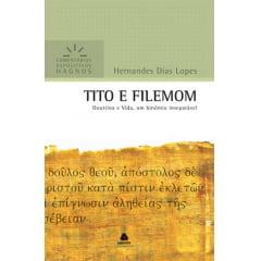 COMENTÁRIOS EXPOSITIVOS HAGNOS - TITO E FILEMOM -COD 0966