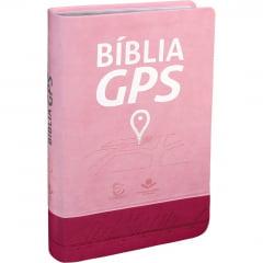 BIB. DE ESTUDO GPS PINK E ROSA CLARO - COD 01171