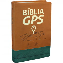 BÍBLIA DE ESTUDO GPS - CAPA MARROM - COD 01170