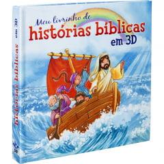 Meu Livrinho de Histórias Bíblicas em 3D - COD. 01280