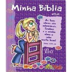 BIBLIA MIG & MEG NTLH Minha Biblia Pati cod 1418