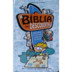 A Bíblia das Descobertas NTLH - Capa dura Azul