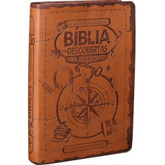 A BÍBLIA DAS DESCOBERTAS PARA ADOLESCENTE  cod 1546