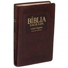 Bíblia Sagrada Revista e Atualizada com Letra Gigante COD 1532