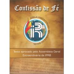 CONFISSÃO DE FÉ IPRB  de 20 a 49 Unidades  cod. 1876