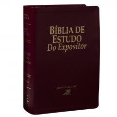 BÍBLIA DO EXPOSITOR CAPA VINHO - COD 1875