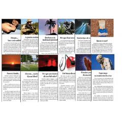 ***Folhetos para evangelismo - Pacote misto com 1000 unidades