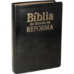 Bíblia de Estudo da Reforma CP Preta