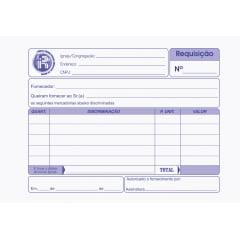 REQUISIÇÃO PARA COMPRAS 50 FLS 2 VIAS EXTRA COPY - COM LOGO DA IPRB
