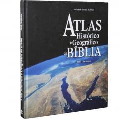 ATLAS HISTÓRICO E GEOGRÁFICO DA BÍBLIA cod 1548