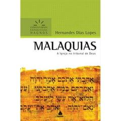 Comentarios Expositivos Hagnos - Malaquias cod 1488