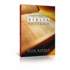 Doze maneiras de estudar a Bíblia sozinho