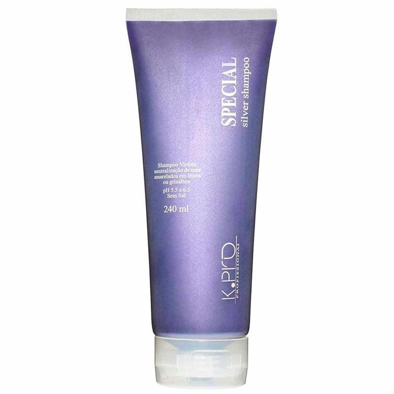 K.Pro Special Silver Shampoo - 240ml