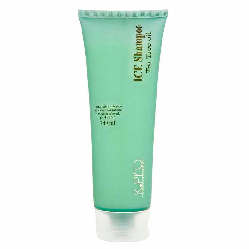 K.Pro Ice Shampoo Tea Tree Oil - 240ml