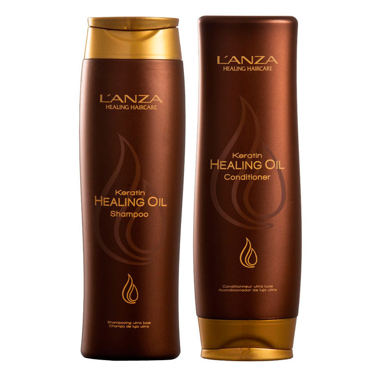 Lanza Keratin Healing Oil Duo Kit