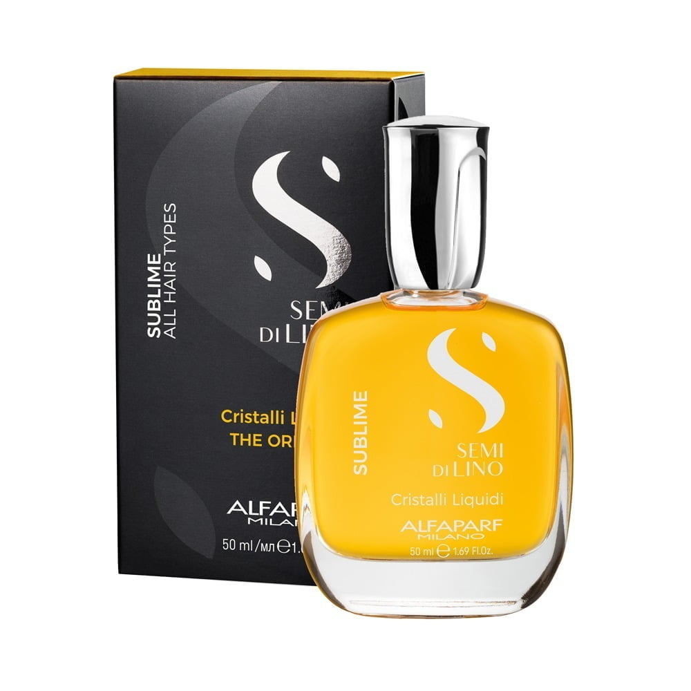 Alfaparf Semi Di Lino Sublime Cristalli Liquidi - Óleo Capilar 50ml