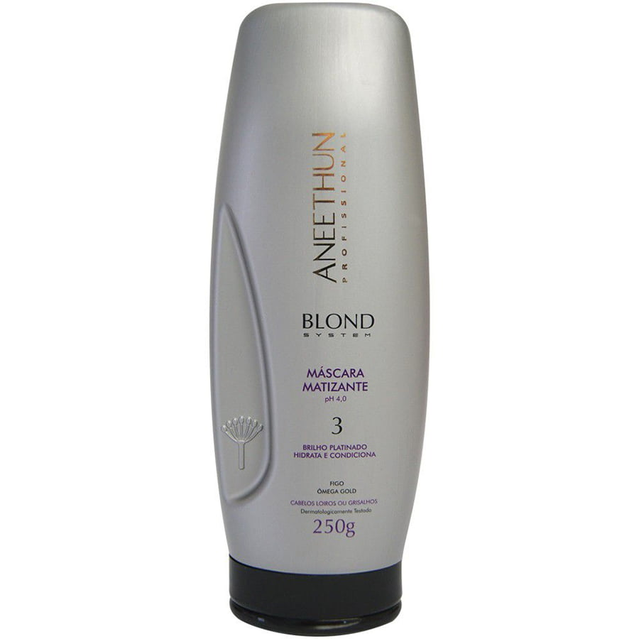 Aneethun Blond System Máscara Matizante - 250ml