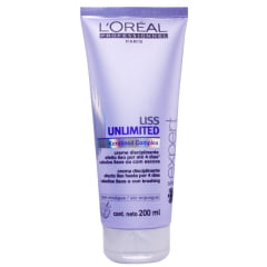 Loreal Liss Unlimited Creme de Pentear - 200ml