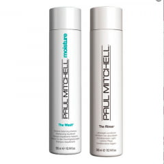 Kit Paul Mitchell Shamp The Wash e Cond. The Rinse