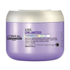 Loreal Liss Unlimited Máscara - 200gr