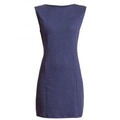 Vestido Curto Tubinho Poá