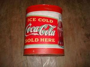 Lata para gelar garrafinhas da coca cola - Produto original - Importado