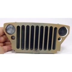 Miniatura 1/6 da grade jeep MB/GPW - Decoração