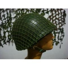 Capacete M1 original usado pelo Brasil e USA na segunda guerra!!