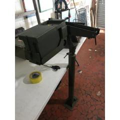 Raqui fixação da replica metralhadora ponto 50 fixar no jeep