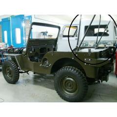 Ferragem para capota jeep M38, M38A1 e militarizações!