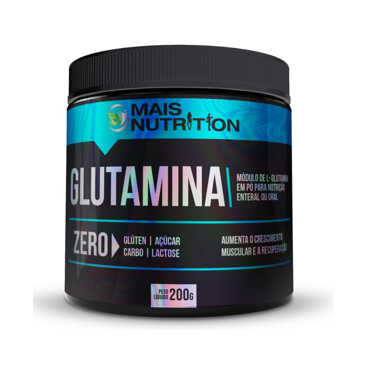 Glutamina 200g - Mais Nutrition