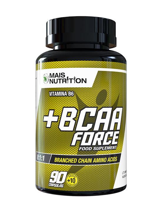 350 BCAA Force 100cp Mais Nutrition