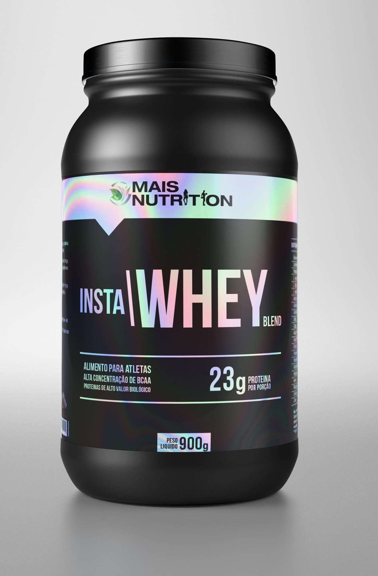4 Insta Whey Blend 900g Mais Nutrition