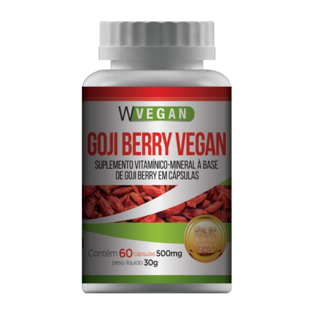 60 Goji Berry 60 capsulas + 20 Oleo de Chia 60 capsulas