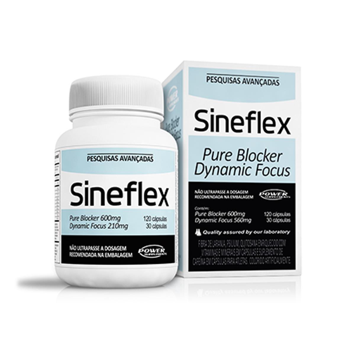 Sineflex 150 capsulas Cafeina e Diurético Power Supplements