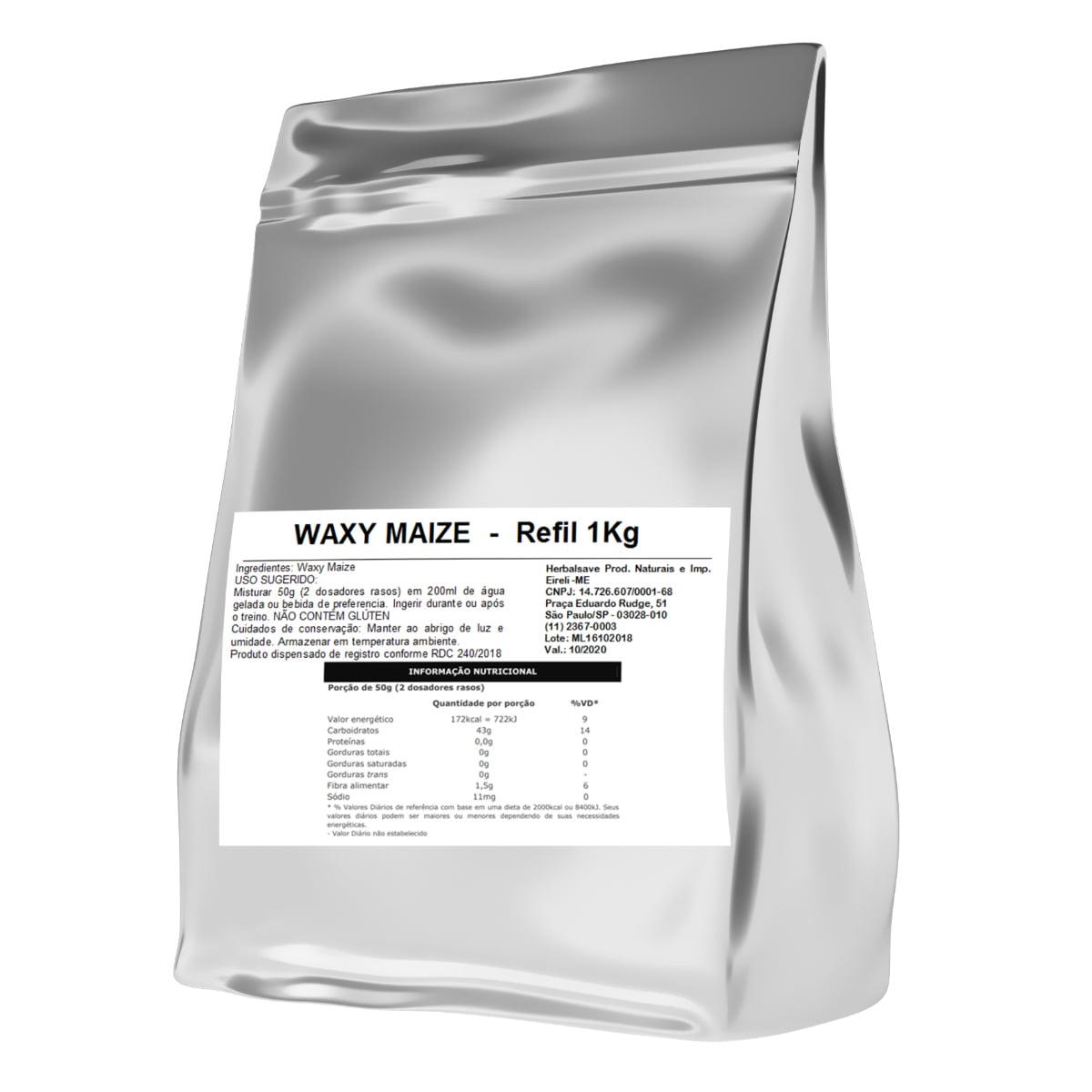 Waxy Maize 1Kg 1 Kilo Quilo Mais Nutrition