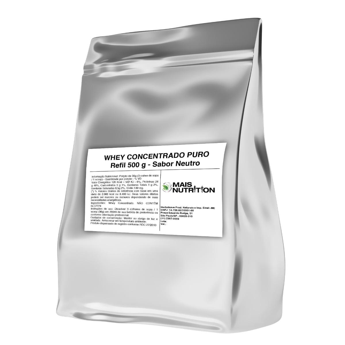 Whey Protein Concentrado 500g
