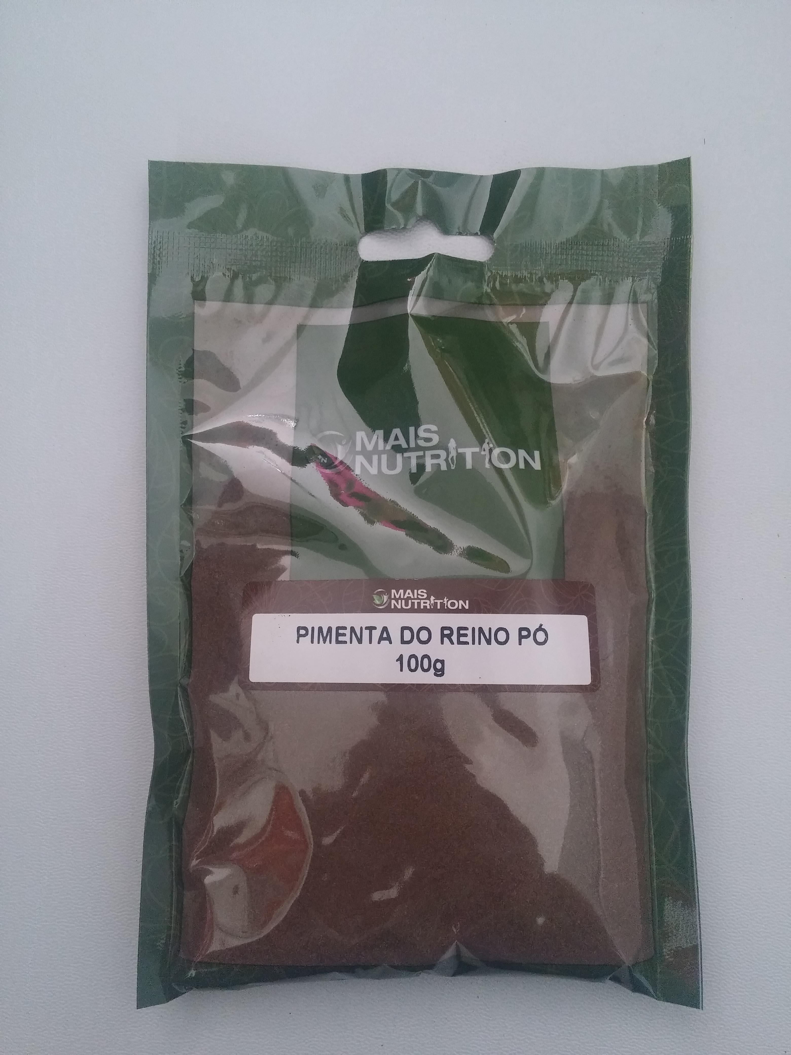 Pimenta do Reino em Pó 100g - Mais Nutrition