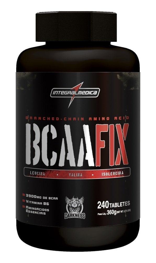 BCAA FIX 240 TABLETES DARKNESS INTEGRALMEDICA