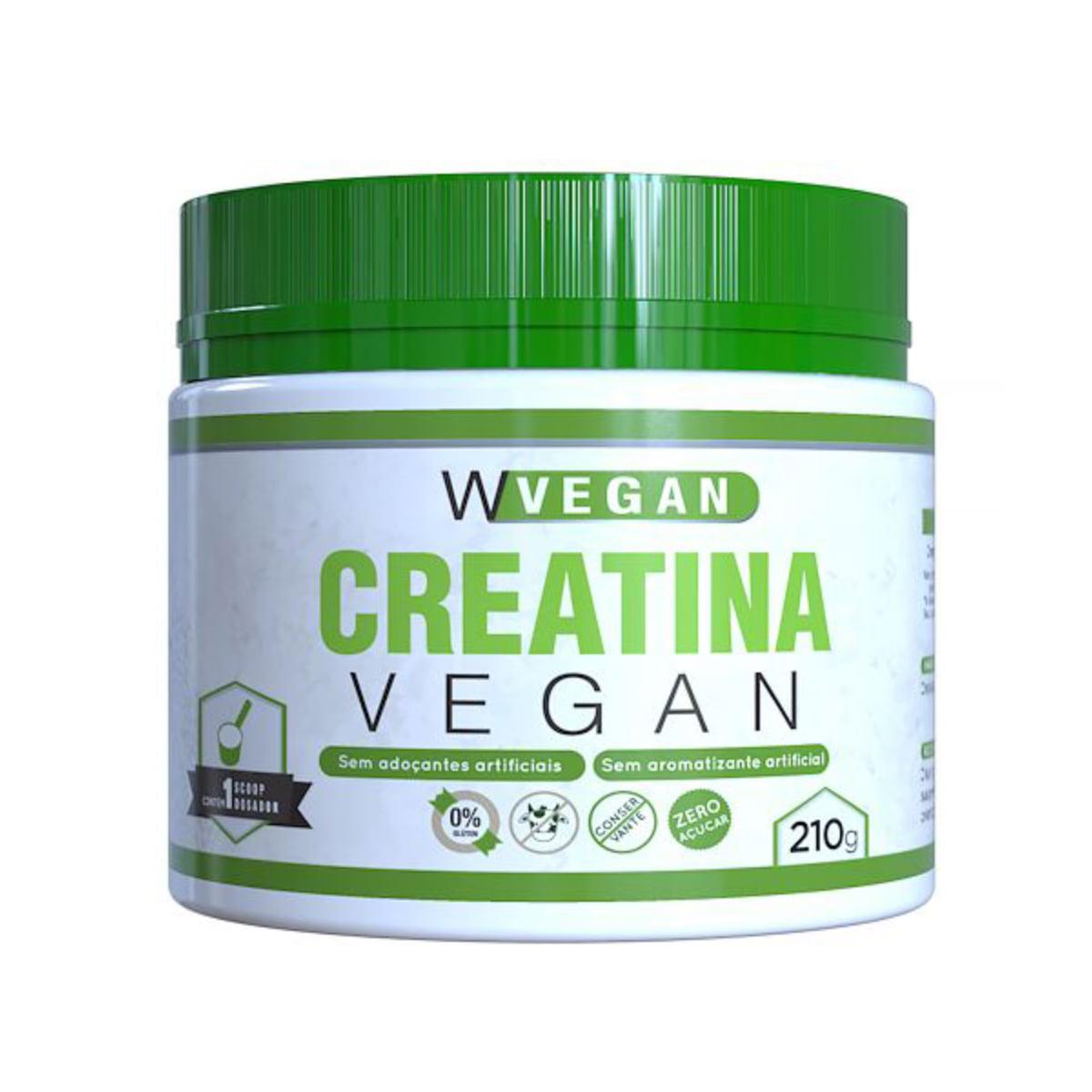 Creatina Vegan 210 gramas Vegetariana