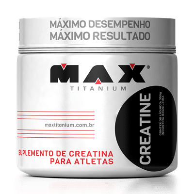Creatina 300g 300 gramas Max Titanium