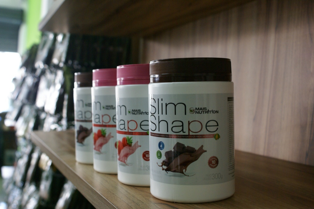 4 Slim Shape 300 gramas Shake Mais Nutrition