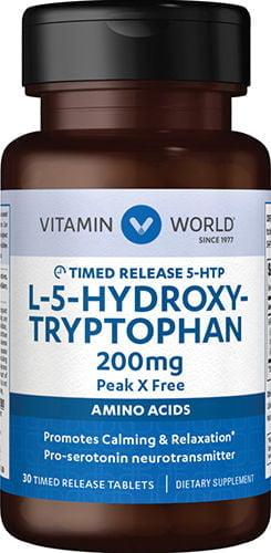5 HTP – Hidroxi Triptofano 200mg 30 tabletes – Vitamin World