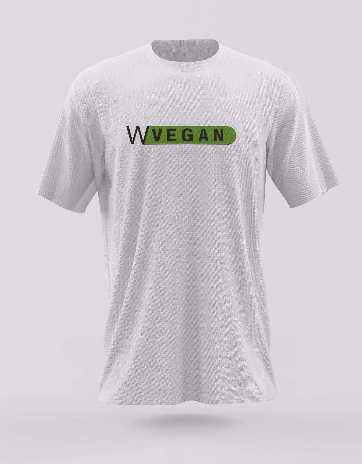 Camiseta Go Vegan WVegan Vegan Tamanhos P , M e G