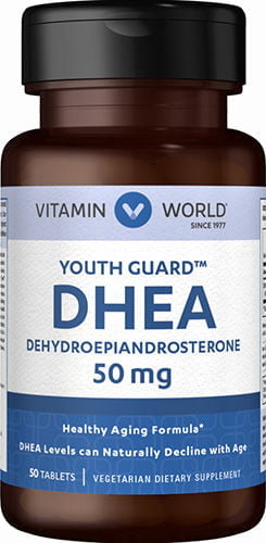 DHEA 50mg 50 tabletes – Vitamin World