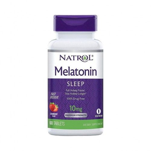 Melatonin 10mg Melatonina 60 tabletes Natrol